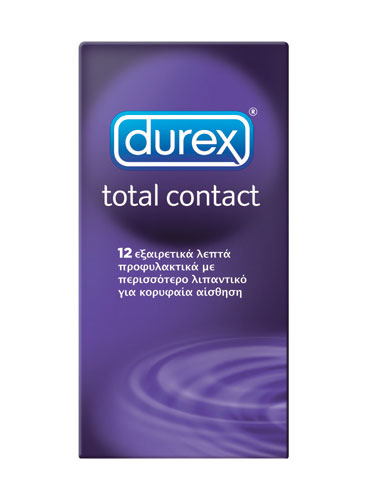 Durex Total Contact 12 τεμ.