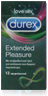Durex Extended Pleasure 12 τεμ.