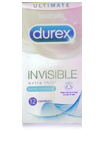 Durex Invisible Extra Thin 12 τεμ.