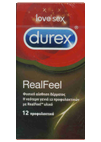 Durex Real Feel 12 τεμ.